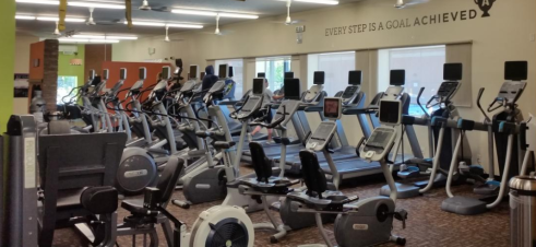 Anytime Fitness cardio room