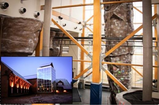 Moscow Idaho University of Idaho Climbing Center