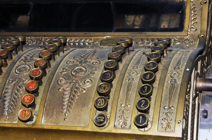 Vintage Register, compressed