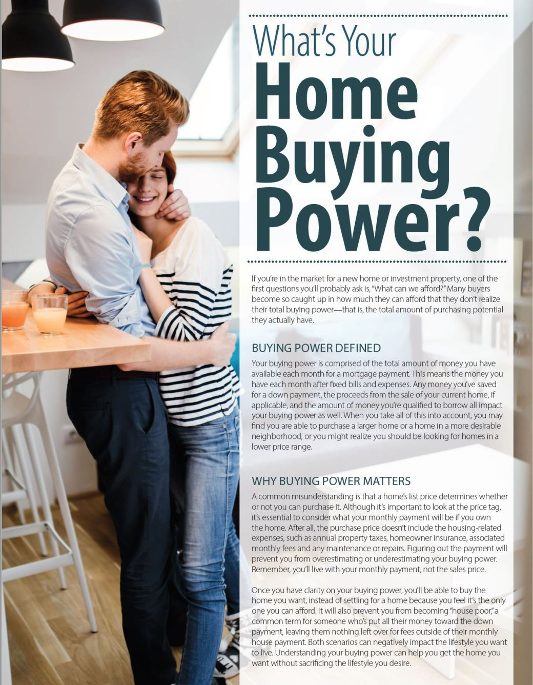 What's your home buying power1 moscow id real estate
