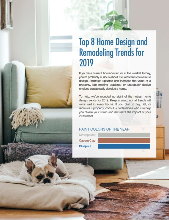 top design trends, color samples